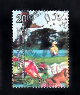 INDIA, 2010, FINE USED, International Year Of Biodiversity, Nature, Bird,Fauna, Rs 20., 1 V - India
