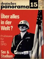 Deutsches Panorama Nr. 15 / 1966  -  Soll Ludwig Erhard Recht Behalten?  -  Sex-Auflärung In Italien - Sonstige