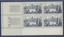 N° 1037 Marseille 8f -  Date 30-11-55 - 1950-1959