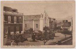 Postal Cabo Verde - Cape Verde - S. Vicente - Praça Do Município (1926) - Carte Postale - Postcard - Cap Vert