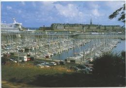 """Saint Malo Saint Servan : Port De Plaisance Des Sablons Passerrelle """"la Bretagne"""" Car Ferry De La Cie Bretonne """"BAI - Frankreich"""