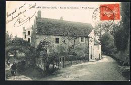 95- AUVERS-sur-OISE- Rue De La Sansonne-Vieil Arceau  -CPA Voyagée  - PAYPAL SANS FRAIS- - Auvers Sur Oise