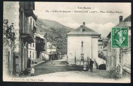 AIGUILLES 05  Vallée Du Queyras -Place Chaffrey-Falque-  -voyagée 1908 - PAYPAL SANS FRAIS- - Other Municipalities