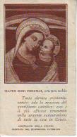 Mater Boni Consilii, Vecchio Santino  (piccolo Strappo In Basso A Destra) - Religione & Esoterismo