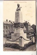 F 59540 CAUDRY, Le Monument Fievet, 1915, deutsche Feldpost, kl. Knick