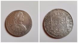 España   8 Reales   Plata 1808   Rey Fernando VII   México   T.H..  26.88 G  MBC - [ 1] …-1931 : Royaume