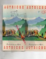 AUTRICHE- KOSEL- BEAU DEPLIANT- VORARLBERG-SALZBOURG-VIENNE-STYRIE-CARINTHIE-BURGENLAND-ELIE ROLF - Dépliants Touristiques