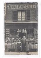 75 - PARIS 11ième : Epicerie, Comestibles, Edmond VIEZ, 50 Rue Amelot, - Cartes Postales