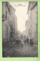 CHATEL - Rue De L' ANCIEN HOSPICE Avec Superbe Plan Animé - Peu Courant - 2 Scans - Chatel Sur Moselle