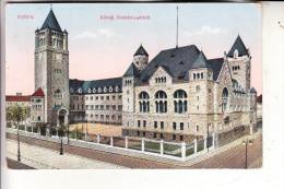 POSEN - POSEN / POZNAN, 1915, K�nigl. Residenzschlo�, deutsche Feldpost Inf. Regt. 52