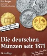 Jäger Münzen-Katalog Deutschland 2016 Neu 25€ Für Münzen Ab 1871 Und Numisbriefe Numismatic Coins Of Old And New Germany - Telefonkarten