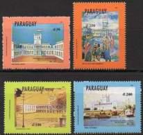 PARAGUAY 1993. Inauguration Du Palais Lopez. Peintures (4)