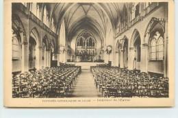 LILLE - Faculté Catholique De Lille, Intérieur De L'église. - Lille