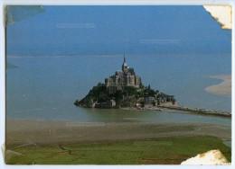 Le Mont-Saint-Michel - écrite Et Timbrée 1984 (mauvais état) 2 Scans - Le Mont Saint Michel