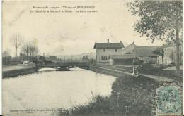 JORQUENAY.   Le Canal De La Marne à La Saône  -  Le Pont Tournant - Otros Municipios