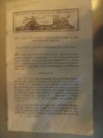 Bulletin Des Lois N°153 An X Retablissement Du Peage Au Pont Saint Esprit Les Baionne Bayonne - Décrets & Lois