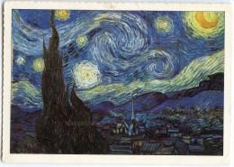 """""""La Nuit étoilée"""", Tableau De Vincent Van Gogh - écrite Et Timbrée (pour Jeu-concours) 2 Scans - Peintures & Tableaux"""