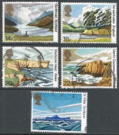 Great Britain. 1981 50th Anniv Of National Trust For Scotland. Used Complete Set. SG 1155-1159 - 1952-.... (Elizabeth II)