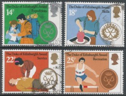 Great Britain. 1981 25th Anniv Of Duke Of Edinburgh Award Scheme. Used Complete Set. SG 1162-1165 - 1952-.... (Elizabeth II)