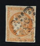 FRANCE - N° 48 - Obl GC 532 - Infime Aminci - Cote 130€ - Belle Présentation - A Voir - Lot P13233 - 1870 Bordeaux Printing
