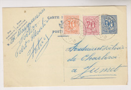 Carte Postale De 1953 De FELUY - ARQUENNES Vers JUMET - Stamped Stationery