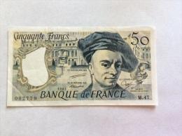 FRANCE - 50 FRANCS 1987 M.47 VF-EF - 1962-1997 ''Francs''