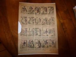 Vers 1900       Imagerie D'Epinal  N° 1218     LA ROSE DES VENTS (Conte Merveilleux)         Imagerie Pellerin - Vieux Papiers