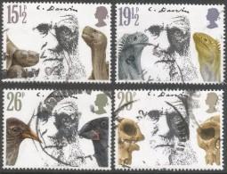 Great Britain. 1982 Death Centenary Of Charles Darwin. Used Complete Set. SG 1175-1178 - 1952-.... (Elizabeth II)