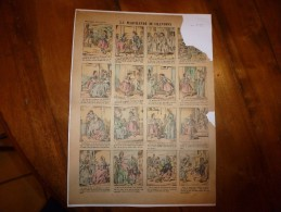 Vers 1900       Imagerie D'Epinal  N° 773    LA MARCHANDE DE CHANSONS        Imagerie Pellerin - Verzamelingen