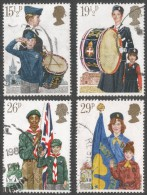 Great Britain. 1982 Youth Organisations. Used Complete Set. SG 1179-1182 - Used Stamps