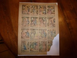 Vers 1900       Imagerie D'Epinal  N° 559    Mlle CIGALE & SA SOEUR        Imagerie Pellerin - Verzamelingen