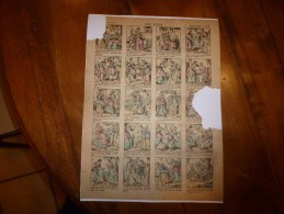 Vers 1900       Imagerie D'Epinal  N° 1112    LES FEES        Imagerie Pellerin - Vieux Papiers