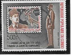 TIMBRE OBLITERE DU CONGO BRAZZA DE 1971 N° MICHEL 329 - Congo - Brazzaville