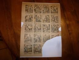 Vers 1900       Imagerie D'Epinal  N° 1225    MARIE ET LA CHOUETTE        Imagerie Pellerin - Vieux Papiers