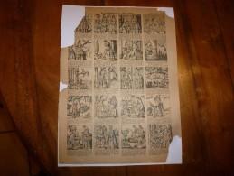 Vers 1900       Imagerie D'Epinal  N° 1106    L'OISEAU BLEU        Imagerie Pellerin - Vieux Papiers