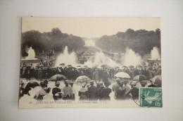VERSAILLES. Jardin De Versailles, Les Grandes Eaux. 15 Juin 1909. - Versailles