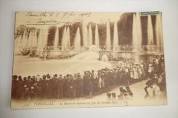 VERSAILLES. Le Bassin De Neptune Un Jour De Grandes Eaux. 3 Novembre 1907. - Versailles