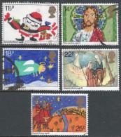 Great Britain. 1981 Christmas. Used Complete Set. SG 1170-1173 - 1952-.... (Elizabeth II)