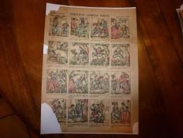 Vers 1900       Imagerie D'Epinal  N° 899    TURLUTUTU CHAPEAU POINTU.        Imagerie Pellerin - Vieux Papiers