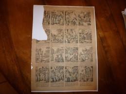 Vers 1900       Imagerie D'Epinal  N° 882    LE CAPITAINE BONENFANT.        Imagerie Pellerin - Vieux Papiers