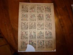 Vers 1900       Imagerie D'Epinal  N° 1134    LE PETIT MENTEUR        Imagerie Pellerin - Vieux Papiers