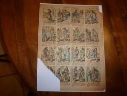 Vers 1900       Imagerie D'Epinal  N° 836    L' AVOCAT PATHELIN        Imagerie Pellerin - Vieux Papiers