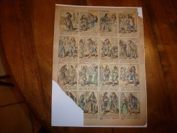 Vers 1900       Imagerie D'Epinal  N° 836    L' AVOCAT PATHELIN        Imagerie Pellerin - Verzamelingen