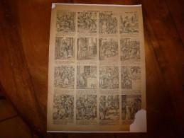 Vers 1900       Imagerie D'Epinal  N° 639    LA CONSCIENCE D'IBRAHIM        Imagerie Pellerin - Vieux Papiers