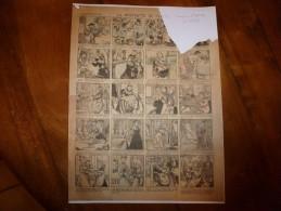 Vers 1900       Imagerie D'Epinal  N° 1059    LA STATUETT DE PLÂTRE        Imagerie Pellerin - Verzamelingen