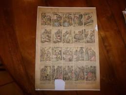 Vers 1900  Imagerie D'Epinal  N° 1186  AVENTURES DE TITILARITI, TONTONLARITON ET TIRELARIRETTE      Imagerie Pellerin - Vieux Papiers