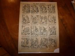 Vers 1900  Imagerie D'Epinal  N° 812    LES TROIS TALISMANS      Imagerie Pellerin - Vieux Papiers