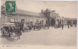 MOULINS. La Gare - Moulins