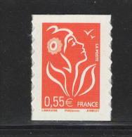 Y&T N°4297 -  ADHÉSIF - MARIANNE De LAMOUCHE Du Carnet VISAGE DE LA RÉPUBLIQUE - France