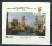 ITALIA / ITALY 2015** - Simposio Regionale Per Le Marine - 1 Val. Autoadesivo Come Da Scansione. - 6. 1946-.. Republik